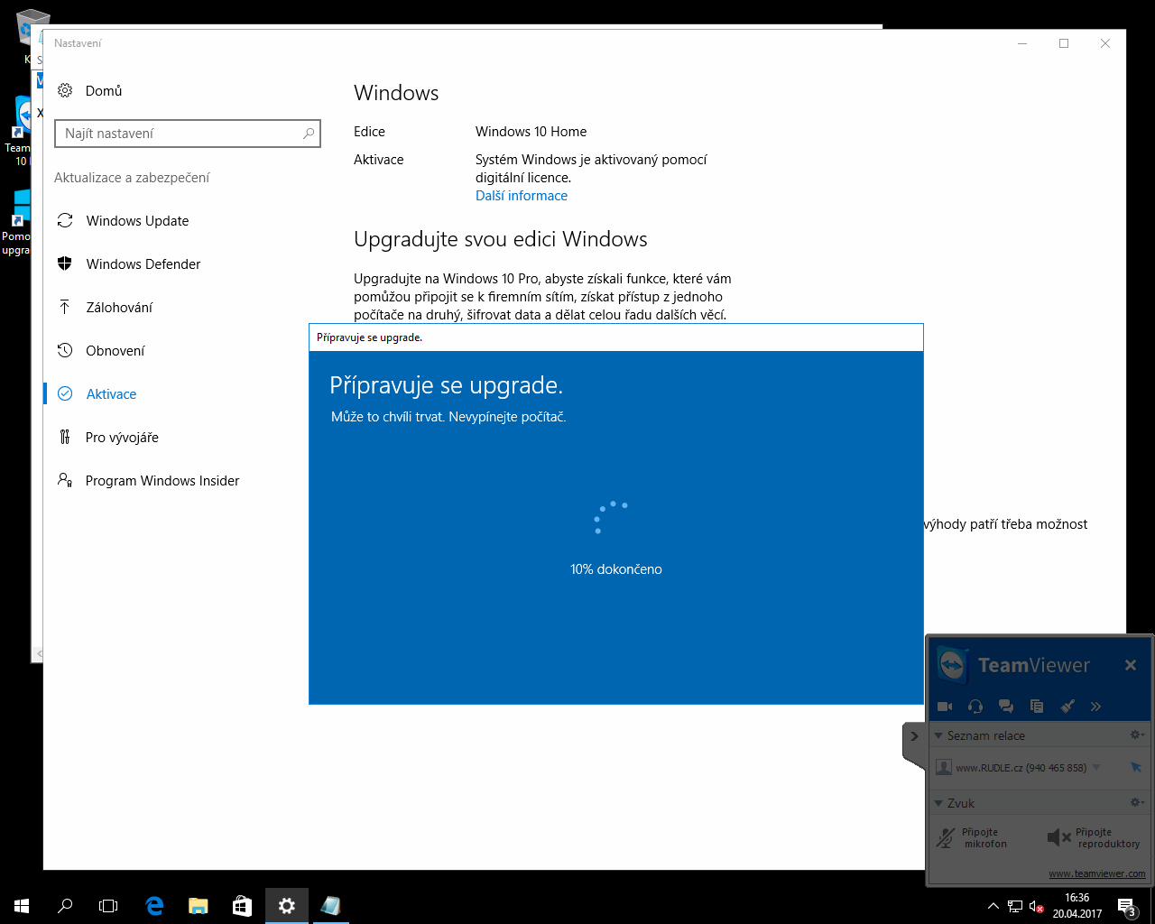 how to upgrade from windows 10 home to professional